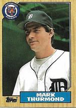Baseball Card- Mark Thurmond 1987 Topps #361 - $1.00