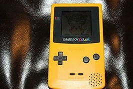 Game Boy Color - Yellow (Only console, no batteries cover) Used - Good - $50.95