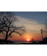 """Dorchester Sunset photo #35  8X10"""" glossy print - $5.00"""