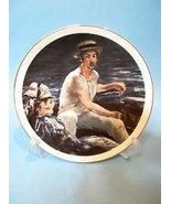 """Southern Living Gallery Classic Art on Porcelain Plate """"Boating"""" Edouard... - $22.75"""