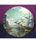 """ROYAL DOULTON """"SAILING WITH THE TIDE"""" COLLECTORS' PLATE 1976 [Kitchen] - $44.45"""