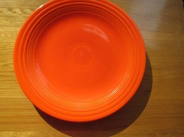 "40s vintage Radiant Red Fiestaware plate -  10"", A++ condition, beautifu... - $49.49"