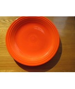 """40s vintage Radiant Red Fiestaware plate -  10"""", A++ condition, beautiful piece! - $49.49"""