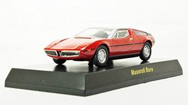 Original Kyosho 1/64 MASERATI MiniCar Collection (japan import) Bora Mini Die... - $39.59