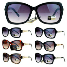 VG Eyewear Womens Diva Art Deco Retro Metal Weave Arm Butterfly Sunglasses - $9.95