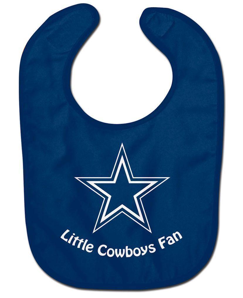DALLAS COWBOYS ALL PRO BABY BIB VELCRO CLOSURE TEAM LOGO NFL FOOTBALL