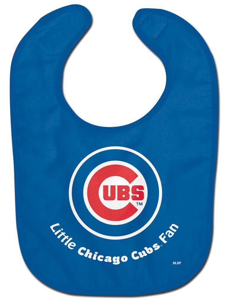 CHICAGO CUBS ALL PRO BABY BIB VELCRO CLOSURE TEAM LOGO MLB BASEBALL
