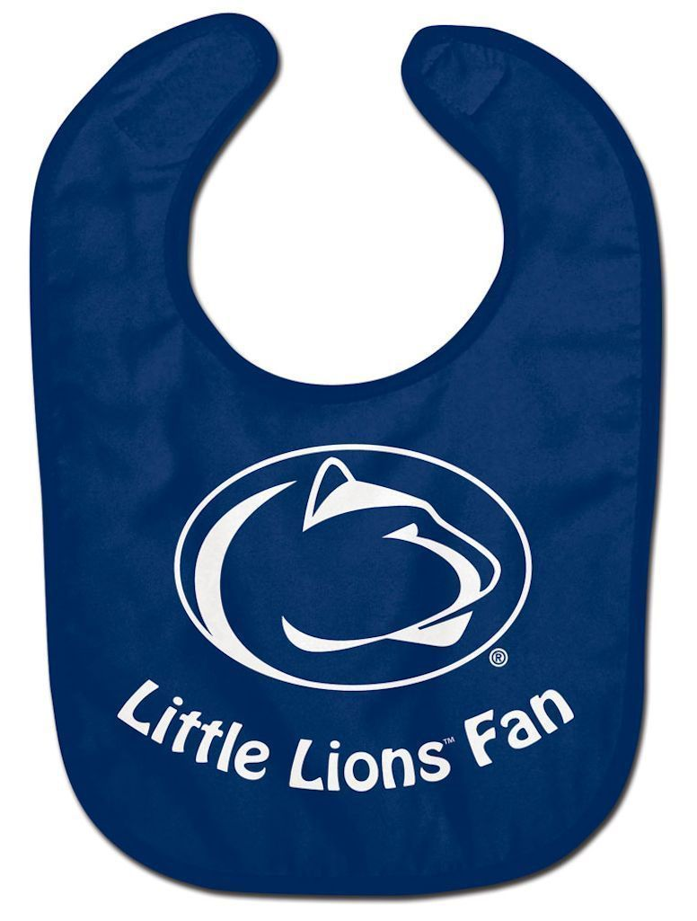 PENN STATE NITTANY LIONS ALL PRO BABY BIB VELCRO CLOSURE TEAM LOGO NCAA