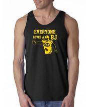 070 Everyone Loves A BJ Tank Top football rude green bay defense playoff... - $16.00+