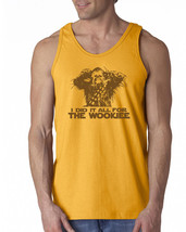074 I did it all for the Wookiee Tank Top funny chewbacca rude vulgar wa... - €13,74 EUR+