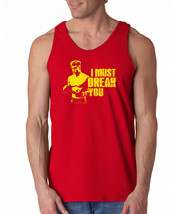 076 I Must Break You Tank Top funny boxing drago 80s movie ivan rocky ch... - €13,74 EUR+