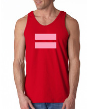 078 Pink Equality Tank Top gay lesbian rights world peace liberal gender... - €13,74 EUR+