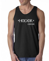 109 Hodor Quote Tank Top game funny of thrones house stark winterfell re... - €11,49 EUR+
