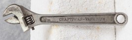 "Vintage Craftsman Vanadium Adjustable Wrench 10"" jds - $24.74"