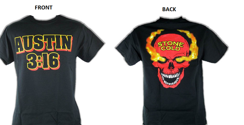 596d1c2ca0dcc Stone Cold Steve Austin Red Skull Shirt Red and 50 similar items