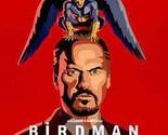 Birdman (Blu-ray,2015,Digital Copy)Rare Red Case W/Gatefold Slipcover, Like New