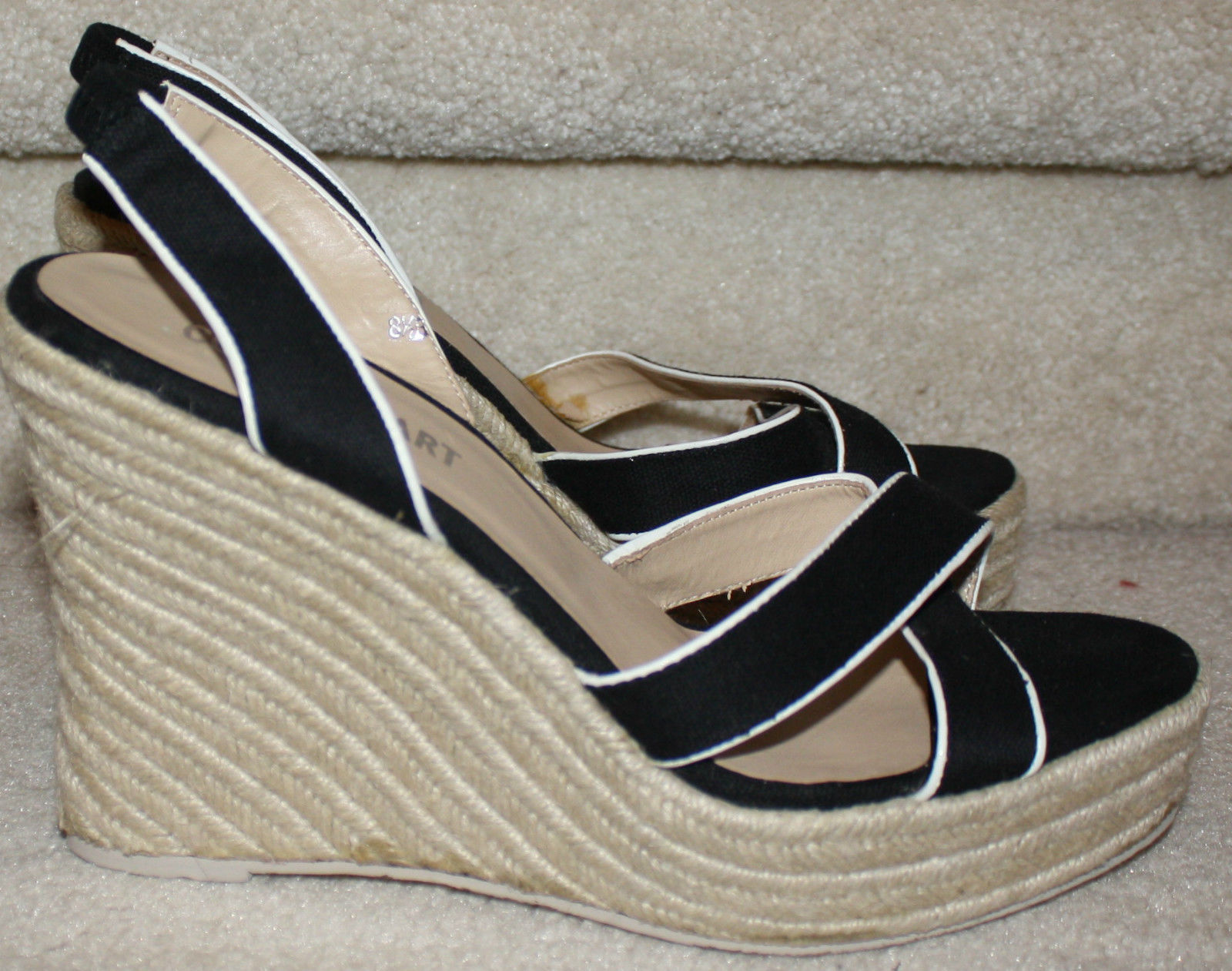 9b284acd26c88d 57. 57. Previous. Victoria s Secret Colin Stuart Black Wedge Strappy Sandal  Platform 234646 8.5M · Victoria s Secret ...