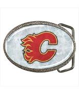 Calgary Flames Belt Buckle - NHL Hockey - $9.65