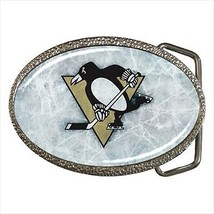 Penguins Belt Buckle - NHL Hockey - $9.65