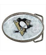 Penguins Belt Buckle - NHL Hockey - $9.65