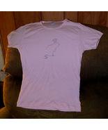 """Pink """"Muskrat Lovely"""" T Shirt kids size L (runs small) - $12.00"""