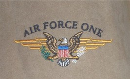 """""""Air Force One"""" logo jacket by Kenpo size Large - $25.00"""