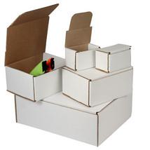 50 - 9 x 6 x 1 White Corrugated Shipping Mailer... - $43.70