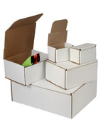 100 -9 x 6 x 5 White Corrugated Shipping Mailer Packing Box Boxes - $119.86