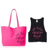 Victoria's Secret PINK Tank & Canvas Tote Bag E... - $49.99