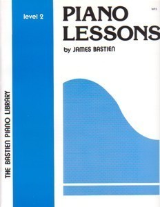Primary image for Bastien Piano Library Piano Lessons Level 2