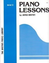 Bastien Piano Library Piano Lessons Level 2 - $4.95