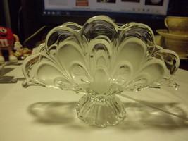 vintage glass napkin holder - $19.95