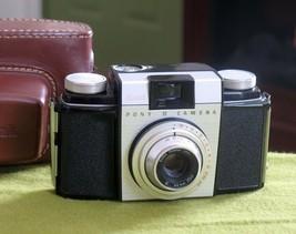 1957 Kodak Pony II Bakelite 35mm Camera in Case (Cracked Chips) DISPLAY ... - $7.95