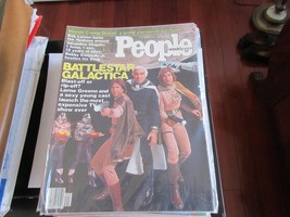 Battlestar Galactica , People Magazine , 10/2/78 , Bob Lemon , Geraldine... - $24.75