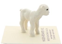 Hagen-Renaker Miniature Ceramic Lamb Figurine Baby White Single image 2