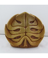 Vintage Coco Joe's Napkin / Letter Holder - Monstera Leaf - Made of Happ... - $45.00