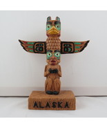 Alaska Style Totem Pole - Made from Resin - Hand Painted !!  - $45.00