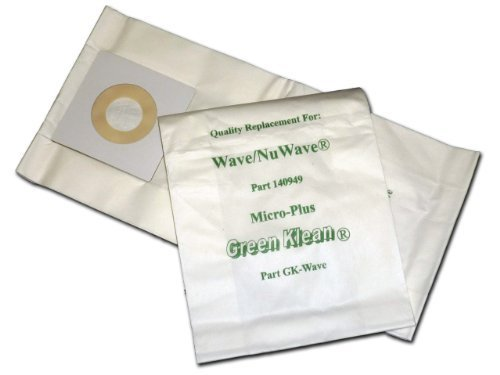 Windsor Vacuum Wave / NuWave Vacuum Bags by Green Klean [Kitchen]