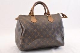 Louis Vuitton Monogram Speedy 30 Hand Bag M41526 Lv Auth sa1792 - $320.00