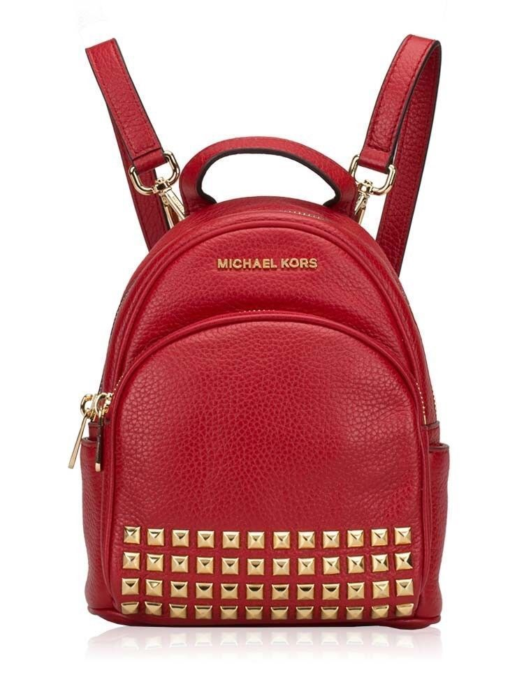 0b826520f1d9 57. 57. Previous. NWT Michael Kors Abbey Mini Backpack Crossbody Bag Red Extra  Small Studded Bag · NWT Michael Kors ...