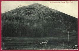 Boyne City Michigan Old Round Top Horse 1909 - $10.00