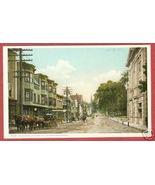 Littleton NH White Moutainns Main St Postcard BJs - $12.50