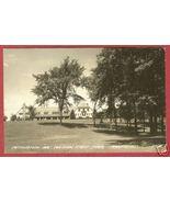 Angola IN Pontawatomi Inn Park RPPC Postcard BJs - $12.50