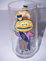 "Vintage Mayor McCheese Drinking Glass Tumbler - 5 1/2"" tall - $9.79"
