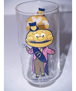 "Vintage Mayor McCheese Drinking Glass Tumbler - 5 1/2"" tall - $9.79"