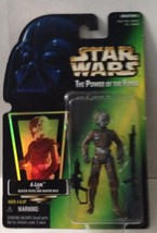 Star Wars Power of the Force 2 POTF2 4-LOM with Blaster Pistol and Blast... - $7.93