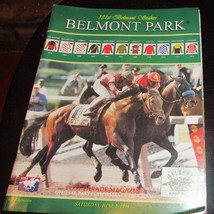 1999  BELMONT STAKESPROGRAM - CHARISMATIC - $3.00