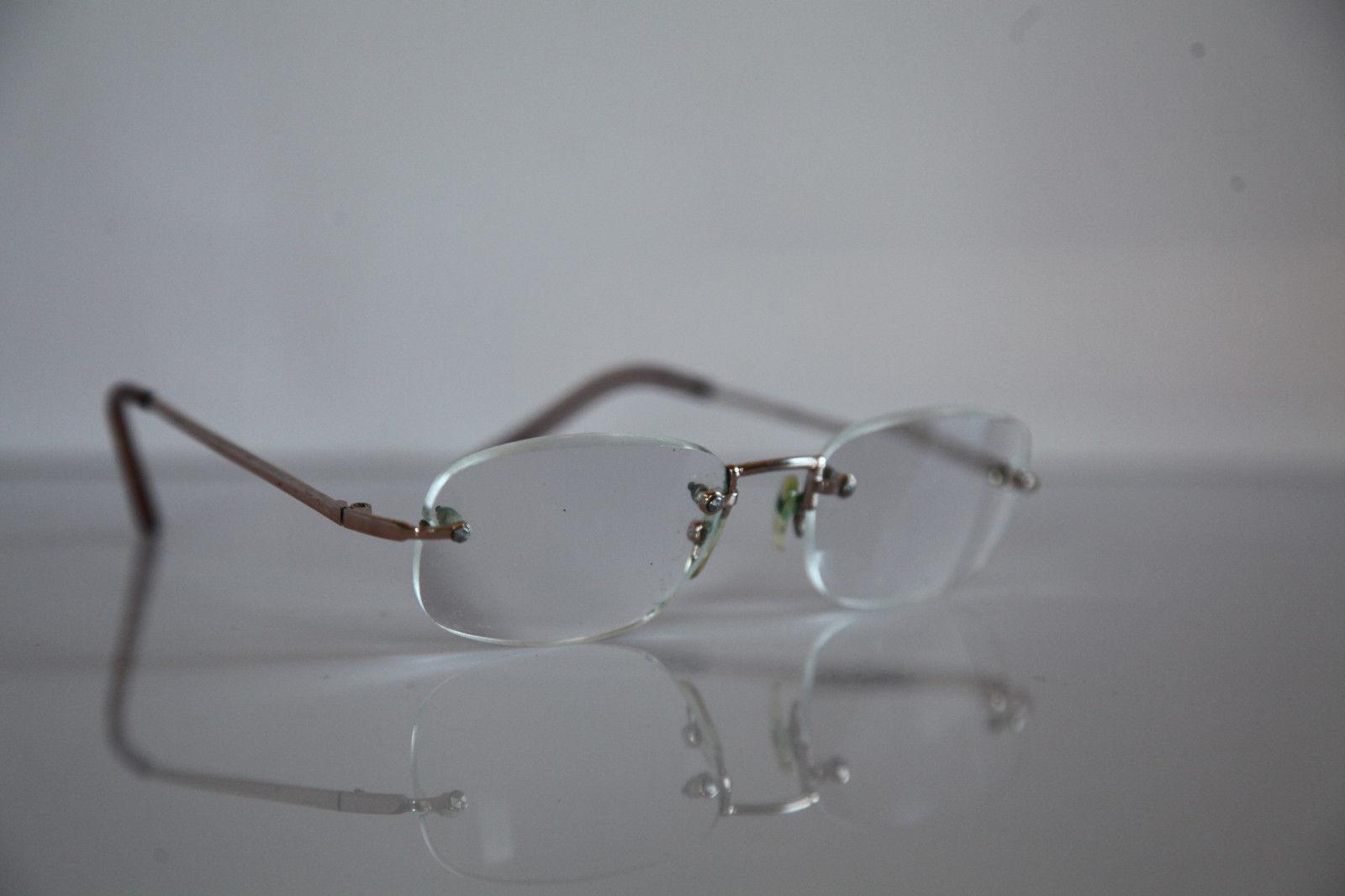 Eyewear, Gold Frame,  RX-Able Prescription lenses