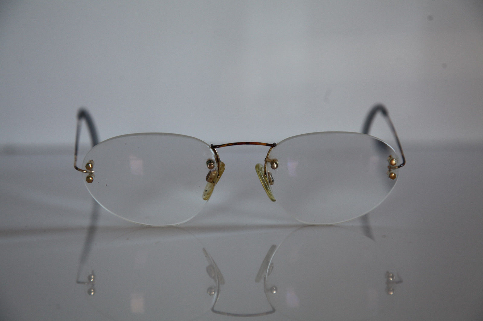 RODENSTOCK Eyewear, Gold, Brown Frame,  RX-Able Prescription lens. Germany