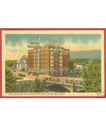 Reno NV Postcard Hotel Riverside Court House Linen BJs - $6.00